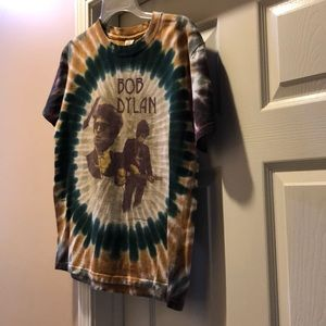 Graphic tie dye T shirt
